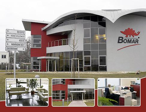 siedziba  firmy Bomar